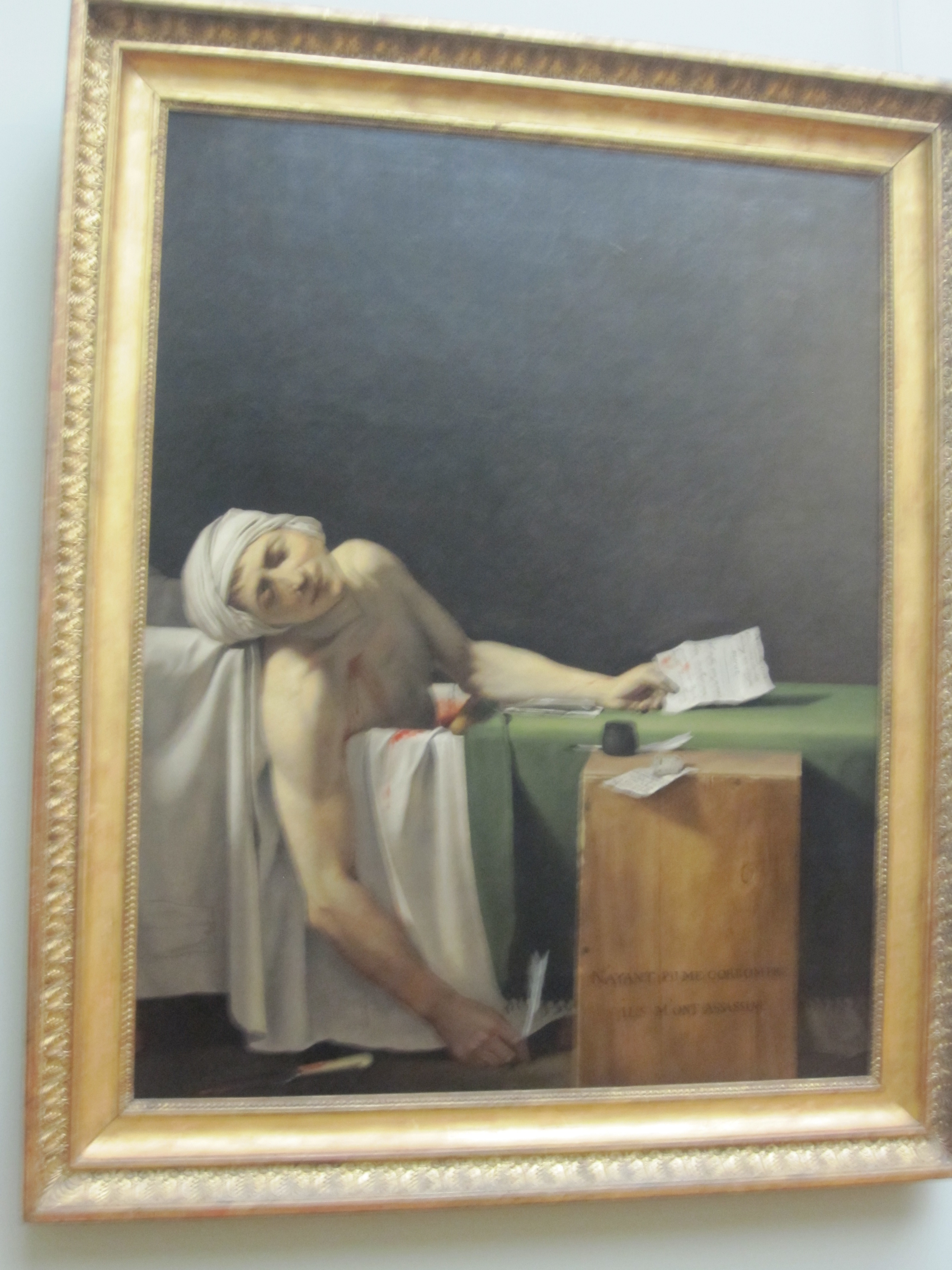 death of marat essay 1 david,jacques louis,1748–1825 death of marat 2 marat  jean paul, 1743– 1793  as a writer, with a number of essays that were expanded into a book.
